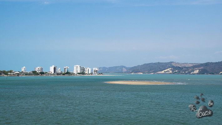 San Vicente - Blick auf Bahía de Caráquez