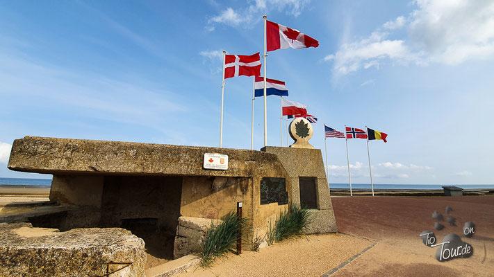Bernières-sur-Mer - Juno Beach Canadian Mémorial
