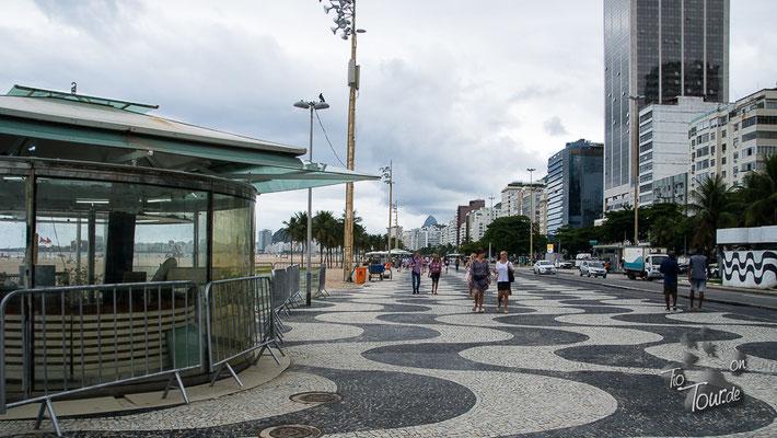 Copacabana - Strandpromenade