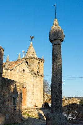 Idanha-a-Velha, Kirche mit Schandpfahl