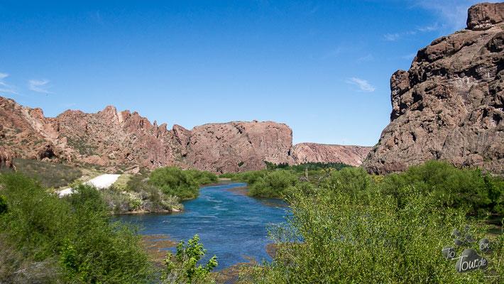 Landschaft am Rio Chubut