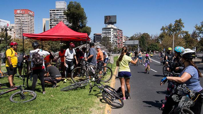 Santiago de Chile - Frühsport