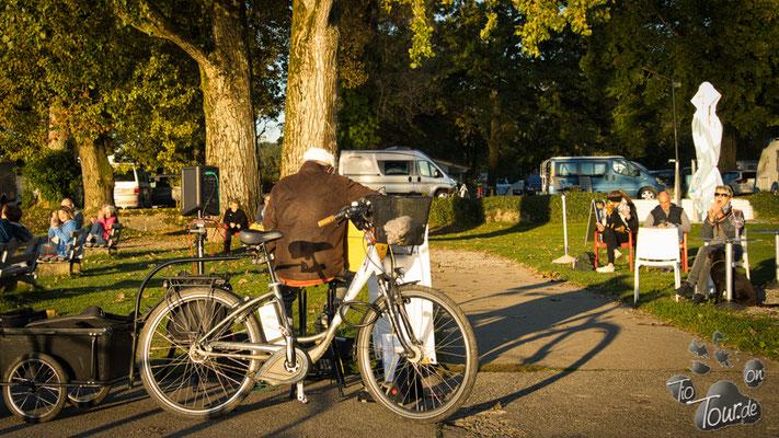 Campingplatz am Bodensee - Applaus