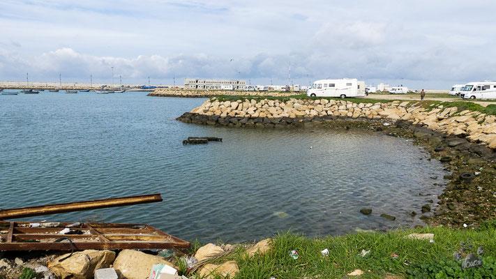 Asilah - Stellplatz am Hafen