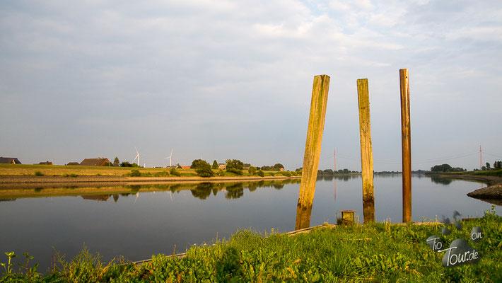 Elbepark Bunthaus - zwischen Norder- und Süderelbe
