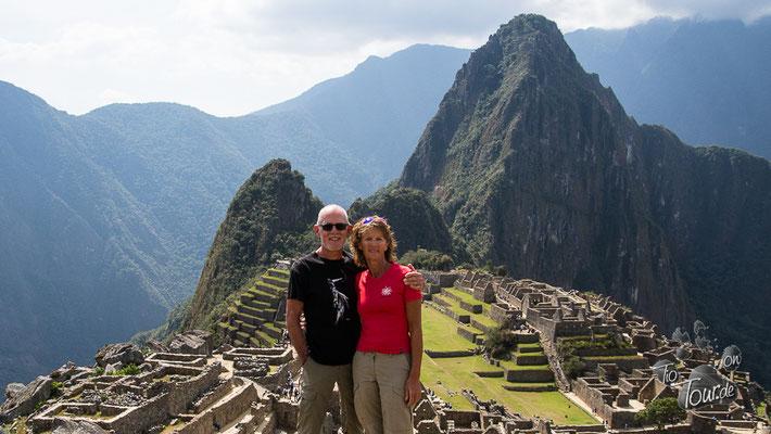 Machu Picchu - KEIN Handy-Selfie !!!