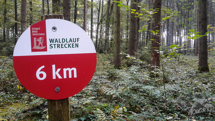 Bad Saulgau - gute Streckenführung
