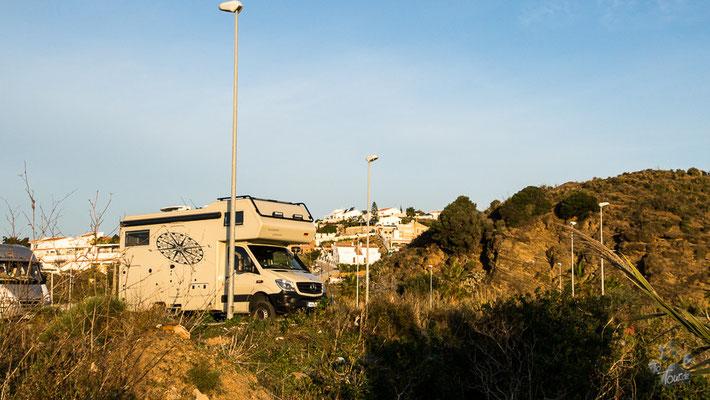 Benajarafe - Costa del Sol - unser Stellplatz