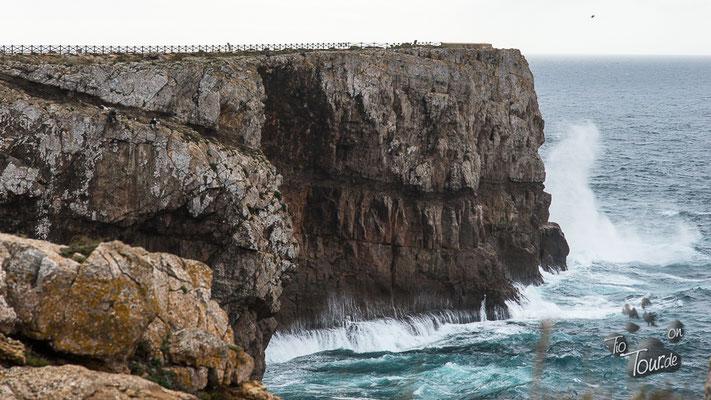 Fortaleza de Sagres - wer findet die Angler ??