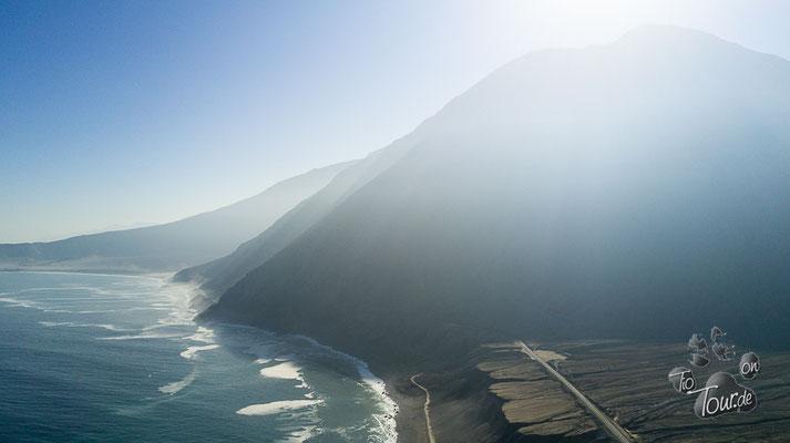 Pazifikküste zwischen Tocopilla und Iquique - Küstennebel