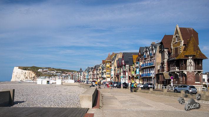 Le Tréport - Strandpromenade