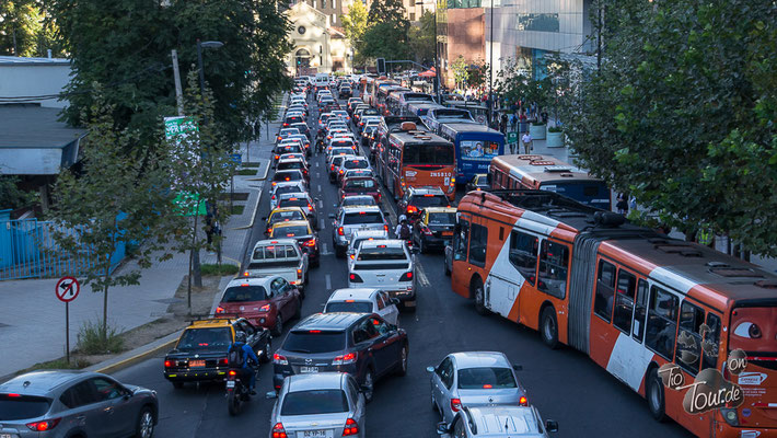 Santiago de Chile - Rushhour