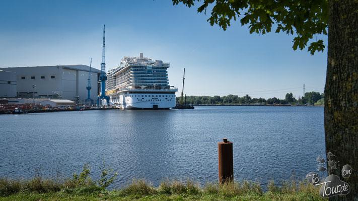 Ausflug zur Meyer-Werft