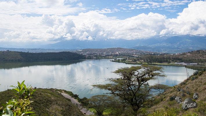 Blick auf die Laguna Yahuacocha