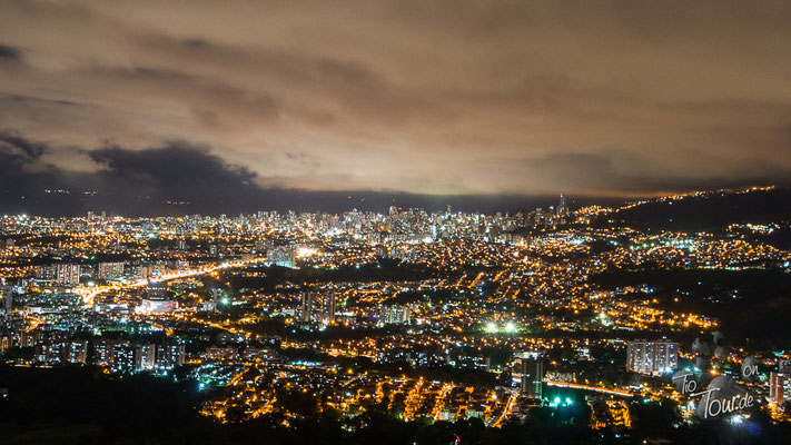 Bucaramanga - Blick vom Campground