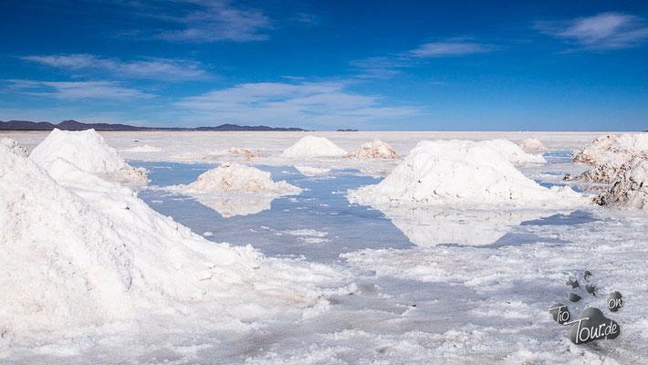 Salar de Uyuni - Salzkegel