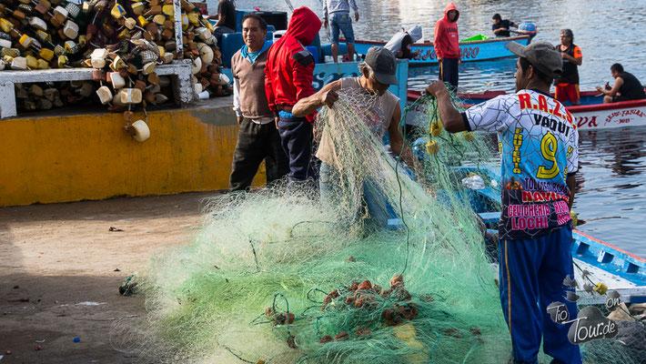 Fischerdörfer am Pazifik