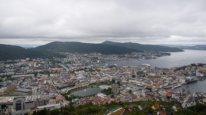 Bergen - Aussicht vom Floyen