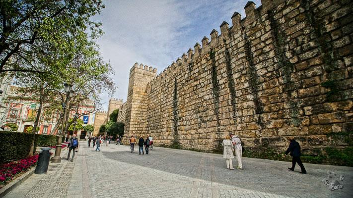 Alcazar - Stadtmauer