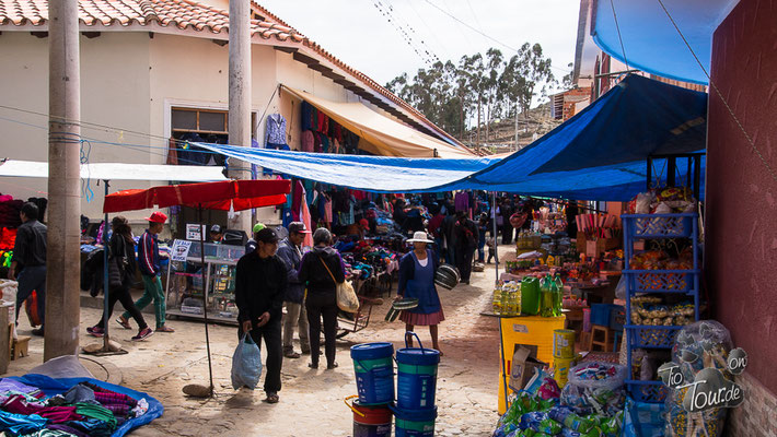 Tarabuco - Sonntagsmarkt
