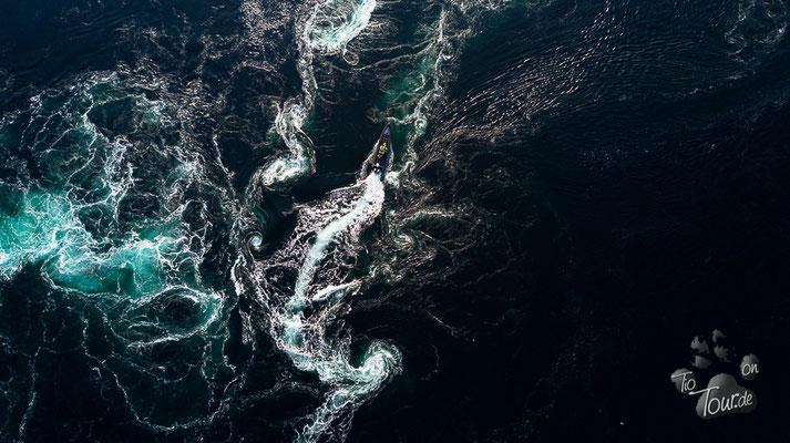Saltstraumen - größter Gezeitenstrom der Welt