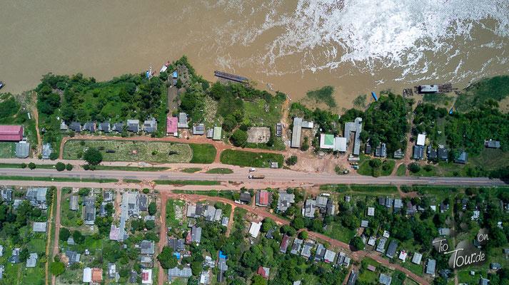 Rio Madeira aus Drohnenperspektive