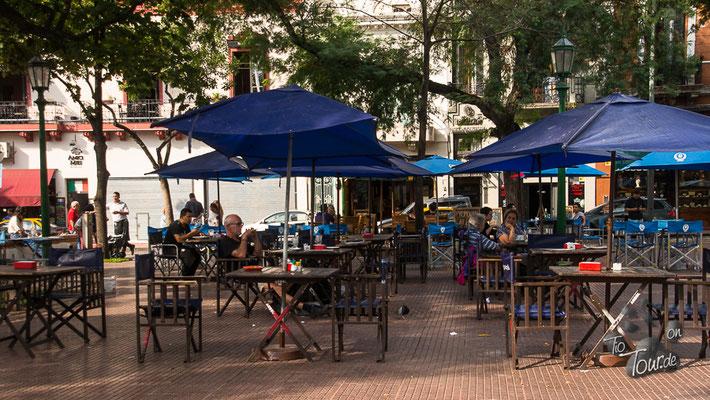 San Telmo - Zeit für Tango, Kaffee und Medialunas