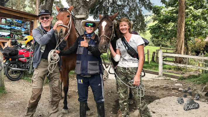 Zu Pferd in den Naturpark Acaime