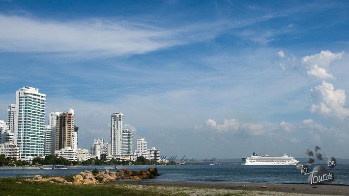 Cartagena - die AIDA fährt weiter