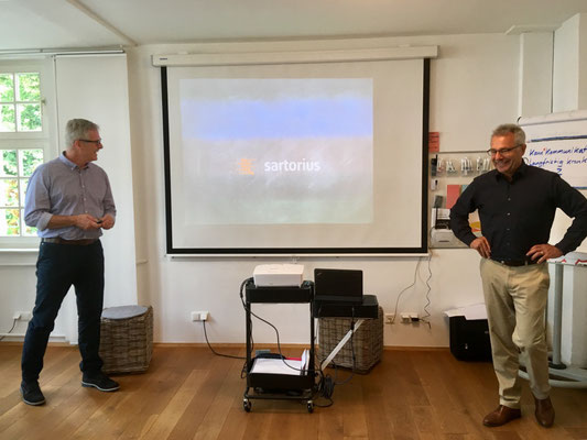 STRUCTOGRAM® Trainings-System Kassel mit Sartorius Stedim Systems GmbH