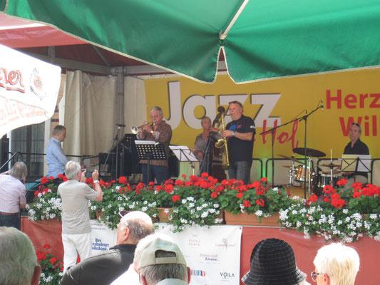 mit Dusko Goykovich, Jazz im Hof Wiesbaden