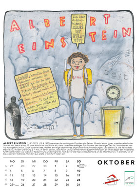 Oktober*Einstein Kalender2021