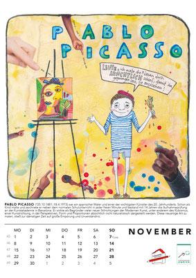 November*Picasso Kalender2021