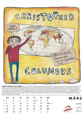 März*Columbus  Kalender2021