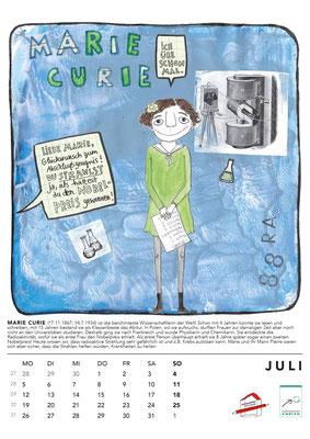 Juli*Curie Kalender2021