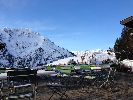 Berggasthof Bühlalpe im Winter