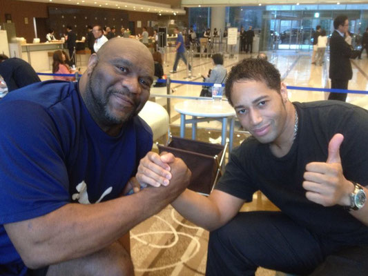 Virg and Bob Sapp