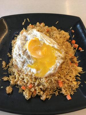Indonesian nasi goreng (6 SGD)