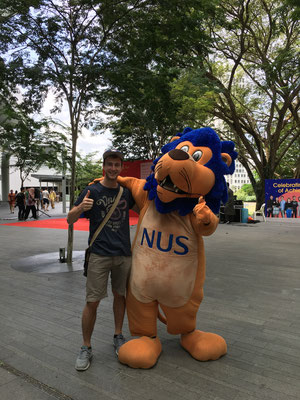 NUS mascot and me