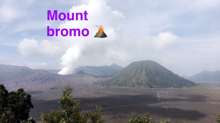 Volcano Mount Bromo and Batok