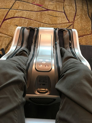 Changi airport Singapore (massage is for free!)