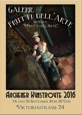 Die Aachener Kunstroute 2016 zeigt Steampunk