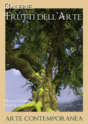 Plakat Entwurf vier, Baum, Aachener Kunstroute am 23.,24.und 25.September