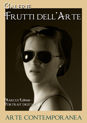 Plakat Entwurf elf, Sunglasses, Aachener Kunstroute am 23.,24.und 25.September