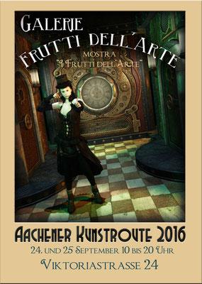 Steampunk auf der Aachener Kunstroute 2016