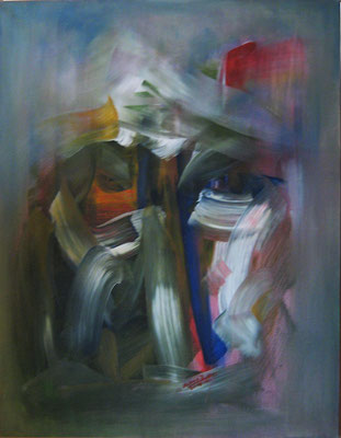 Ibrahim Alawad, Malerei, Acryl auf Leinwand 6 , Aachener Kunstroute 2019