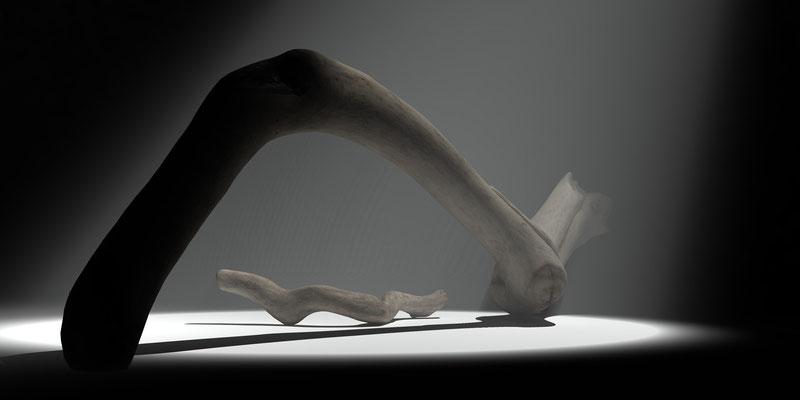 Driftwood 1, digitl art 3d, Marcus Löhrer auf der Aachener Kunstroute 2019