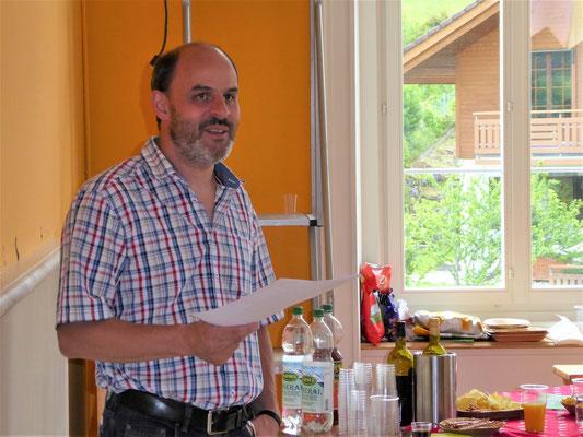 Christof Loser, Präsident Dorfverein