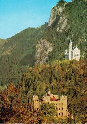 Reise zu den Königsschlössern in Bayern 1976