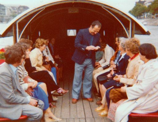 Reise in den Jura und nach Basel, 1975